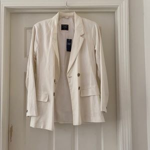 Abercrombie and Fitch linen blend blazer